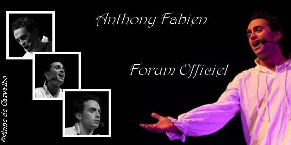Forum officiel d'Anthony Fabien Index du Forum