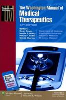 The Washington Manual of Medical Therapeutics - 33 edition