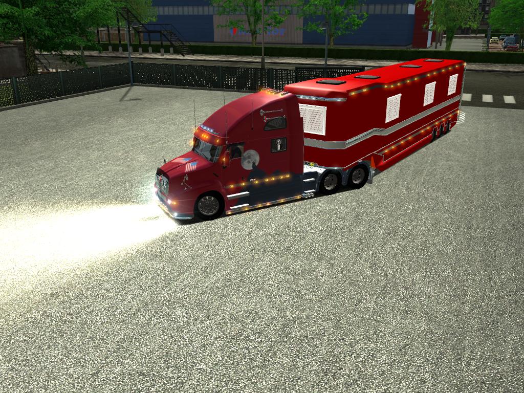 euro truck simulator forum exclusif semi remorque caravane laurent by borsalino88. Black Bedroom Furniture Sets. Home Design Ideas