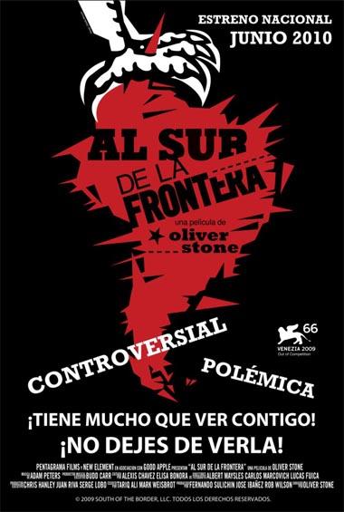 Poster de Al sur de la frontera