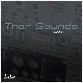 SB Thor Sounds refill (Vol 1, Vol 2), refills samples audio, Vol. 1, ThoR, Sounds, SB, Refill